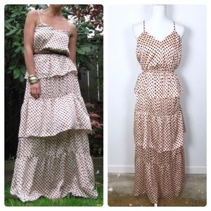 H&M Tiered Layer Maxi Dress